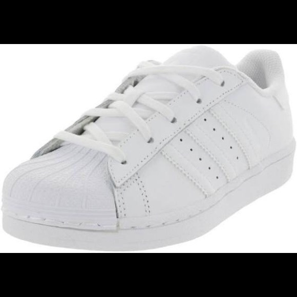meet 38ce5 6901e White adidas Originals Superstar Preschool Size Boutique